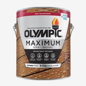 MAXIMUM<sup>®</sup>Stain + Sealant in One Semi-Transparent Low-VOC